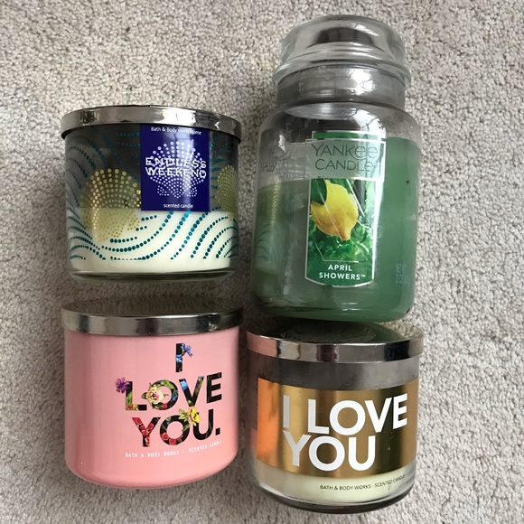 B&BW and Yankee Candles